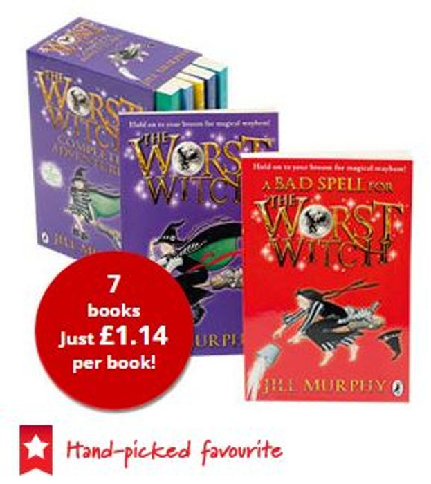The Worst Witch Collection - 7 Books (Collection) - save £33.94