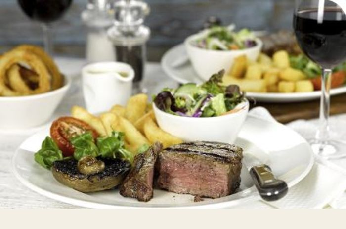 Free 60z Steak at Beefeater