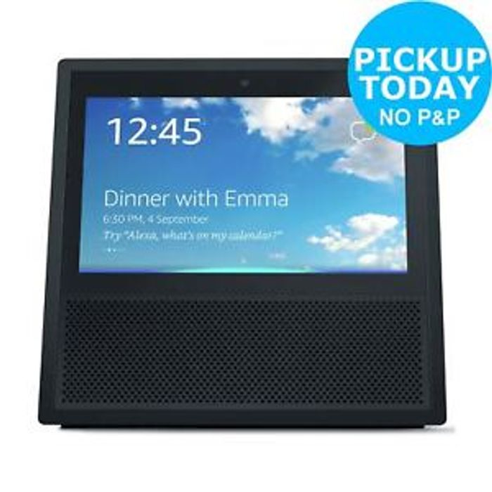 Amazon Echo Show Wireless Speaker with Alexa Voice Control at Argos/ebay