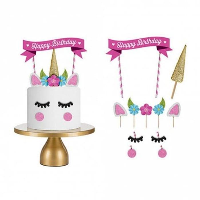 Unicorn Cake Decorating Kit - Free Delivery