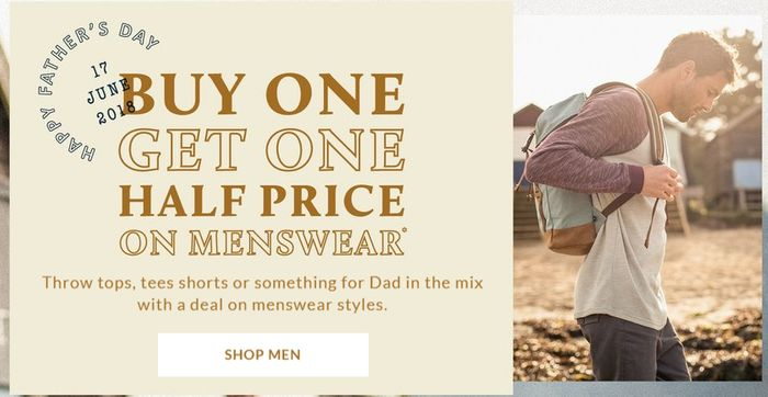 Animal Buy One Get One Half Price on Menswear Sale