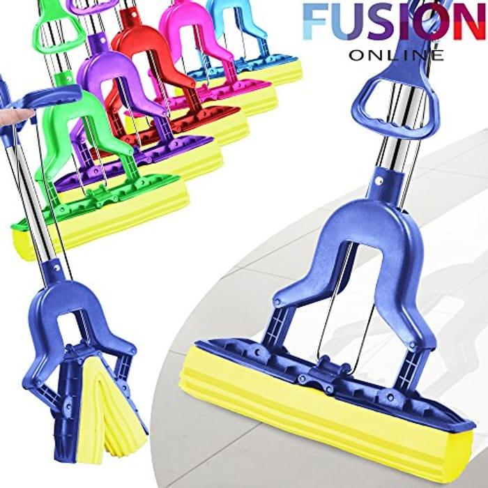 Super Absorbent Cleaning Sponge Mop Laminate Floor Telescopic