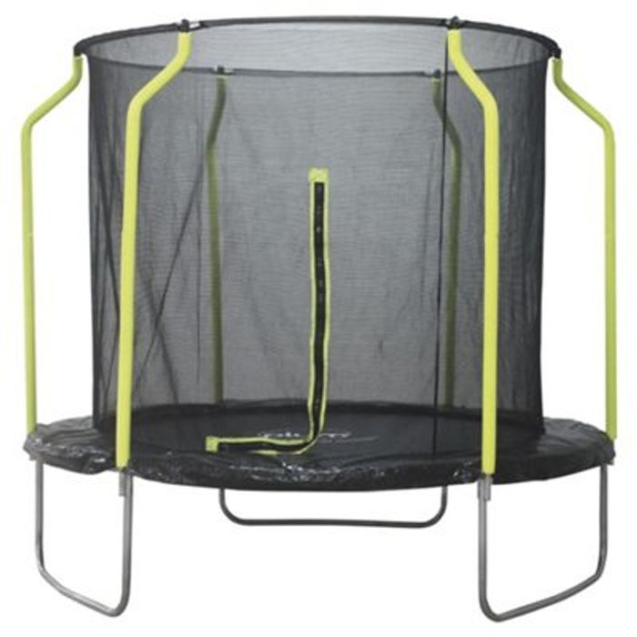 Plum 8ft Trampoline with Enclosure & Other Trampolines HALF PRICE