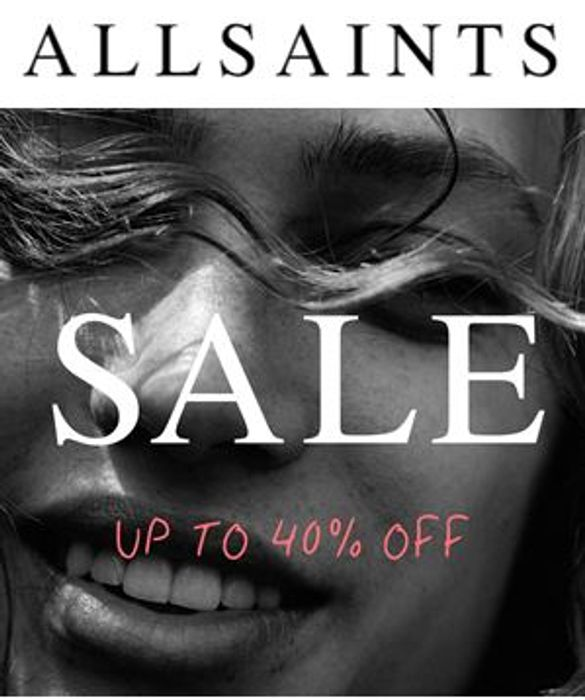 40% off Womens Clothes at ALLSAINTS - SALE on NOW