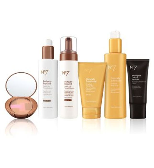No7 Tan Must Have Set
