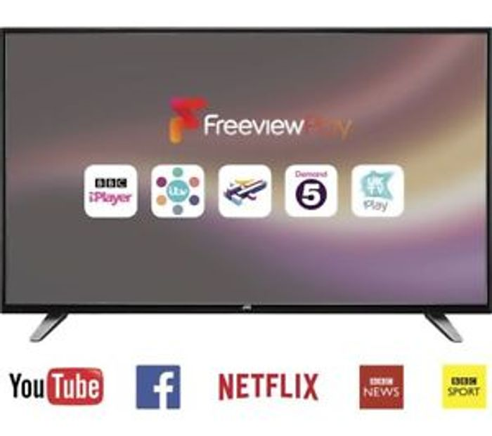 """JVC 55"""" Smart LCD TV Only £323.07 with Code at Currys/ebay"""