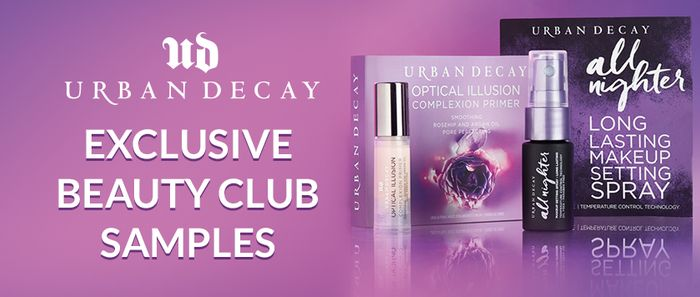 Urban Decay Sample for Beauty Card Holders