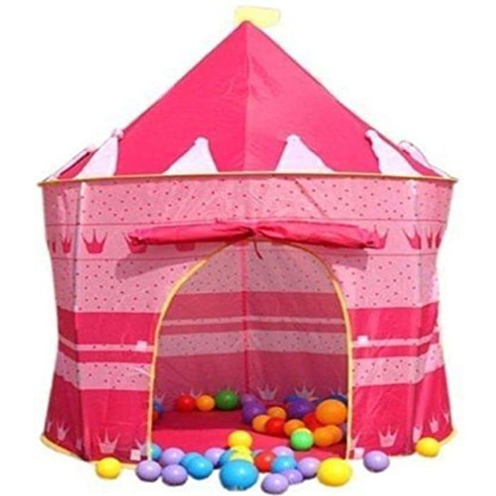 Kids Wizard & Princess Castle Tent for Indoor & Outdoor Playhouse