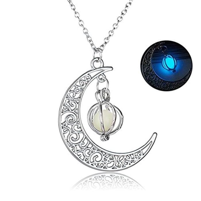 Glow in the Dark Moonlight Pendant