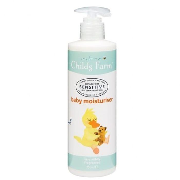 Childs Farm Sensitive Baby Moisturiser - Very Mild Fragrance 250ml