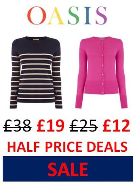 OASIS SALE - Half Price Bargains!