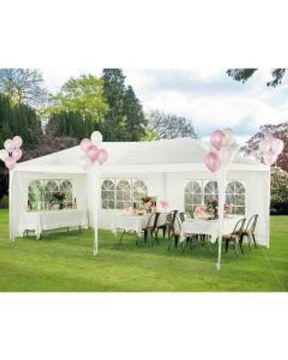 Gardenline 6m X 3m Party Gazebo Only £59.99