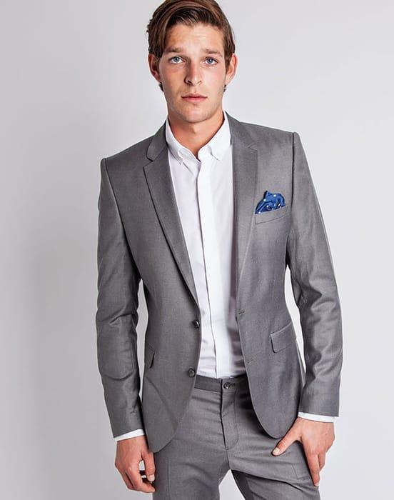 One Mylo Logan Grey Blazer