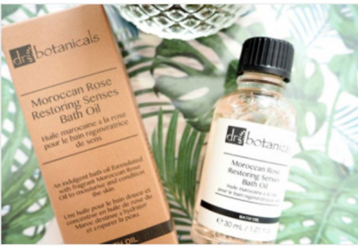 Free Dr Botanicals Bath Oil