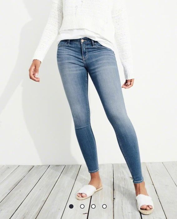 Advanced Stretch Low-Rise Jean Leggings
