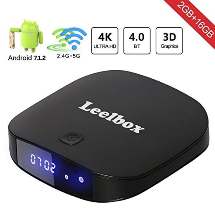 Leelbox TV Box Q2 Pro Android 7.1 2GB+16GB