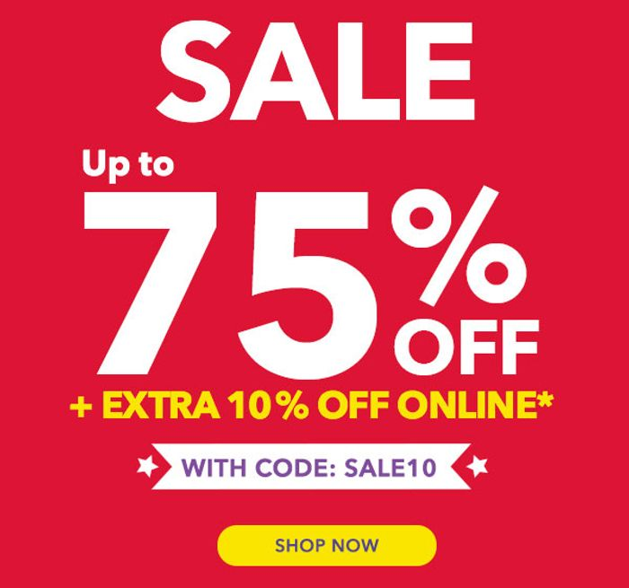 Extra 10% off Online