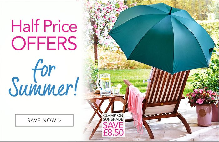 House of Bath Half Price Summer Offers Sale