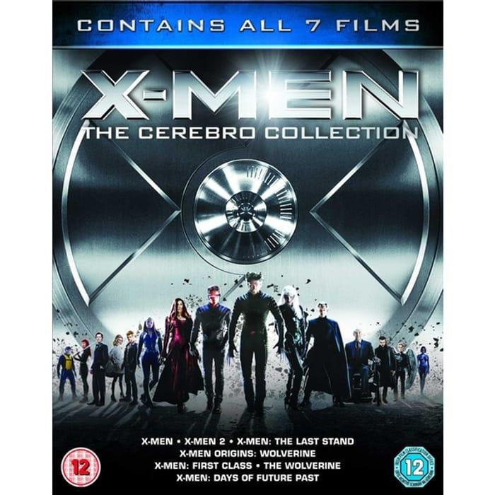 X-Men - the Cerebro Collection Blu-Ray 7 Movies
