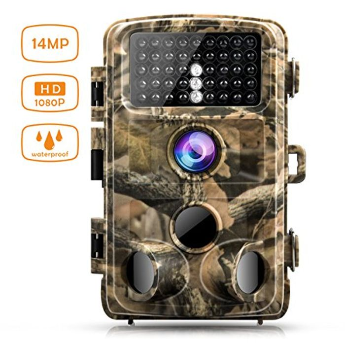 Campark Trail Game Camera, 14MP 1080P Waterproof Cam for Wildlife