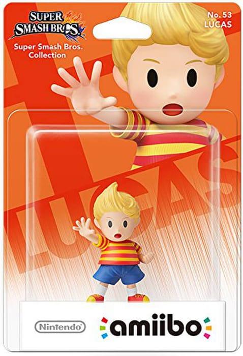 Super Smash Bros. Collection - Lucas Amiibo (Nintendo Switch / 3DS / WiiU)