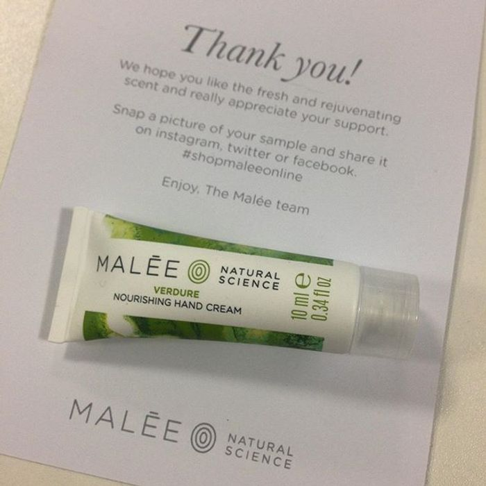 Malee Hand Cream Sample