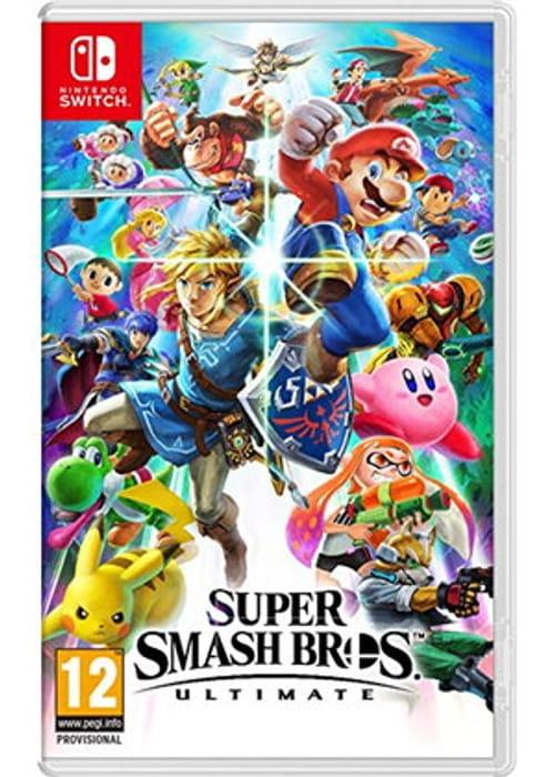 Super Smash Bros. Ultimate (Nintendo Switch) PRE-ORDER for DECEMBER RELEASE