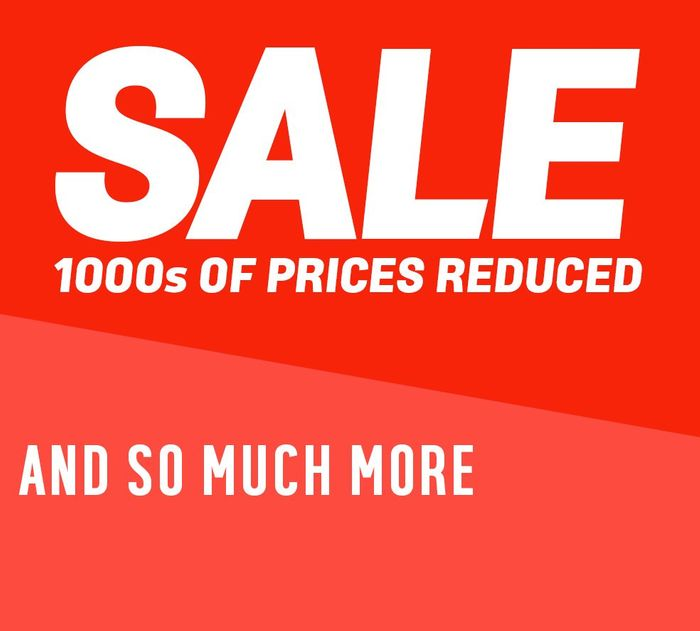 Big Sale at Argos