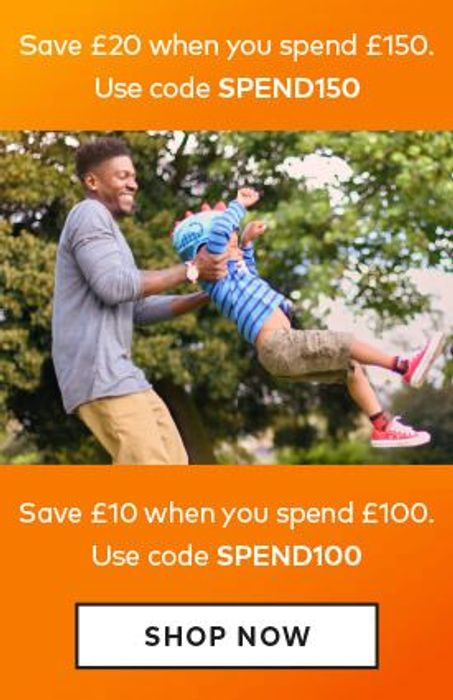 Save £20 When You Spend £150.