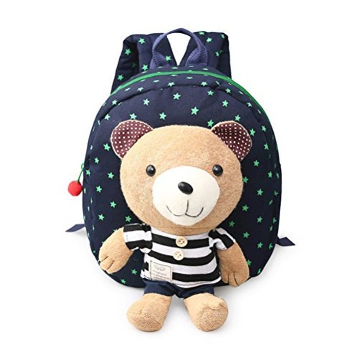 Child Backpack Toddler Backpack Safety Harness with Rein Detachable Bear Toy