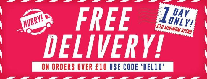 1 Day Only Free Delivery