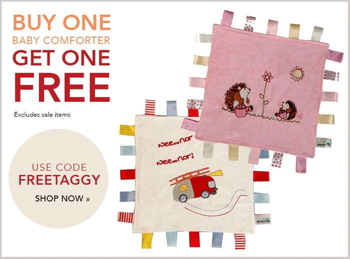 Baby Comforters: Buy One Get One Free