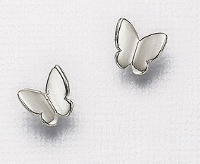 Madame Butterfly Stud Earrings