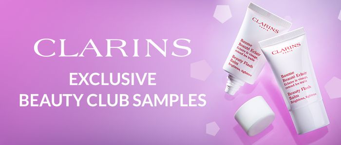 Free 15ml Clarins Beauty Flash Balm for Beauty Club Card Holders - Debenhams