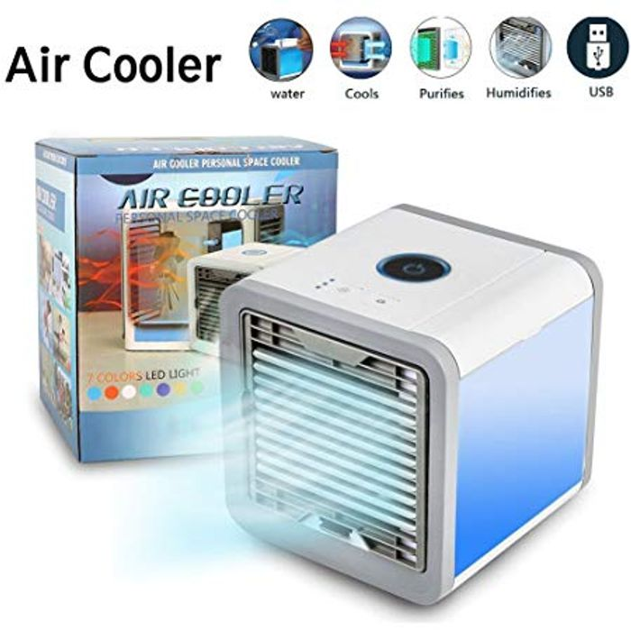 BARGAIN!!! Portable Personal Space Air Cooler & Humidifier