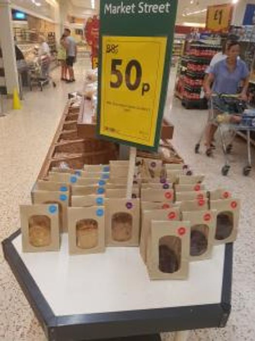 Morrison's 5 Pack Chunky Cookies 50p at Morrisons