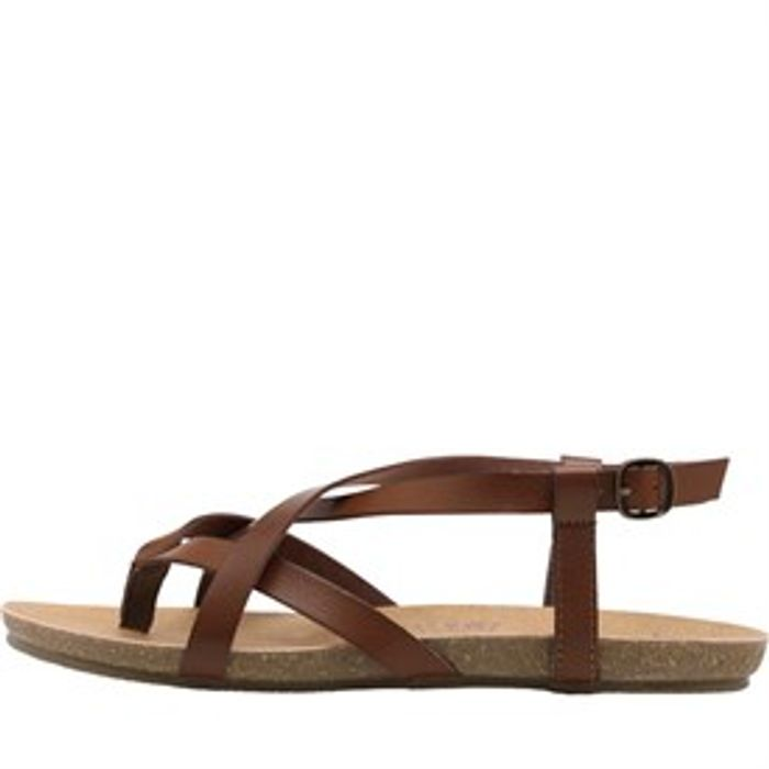 Blowfish Golden Strapped Sandals