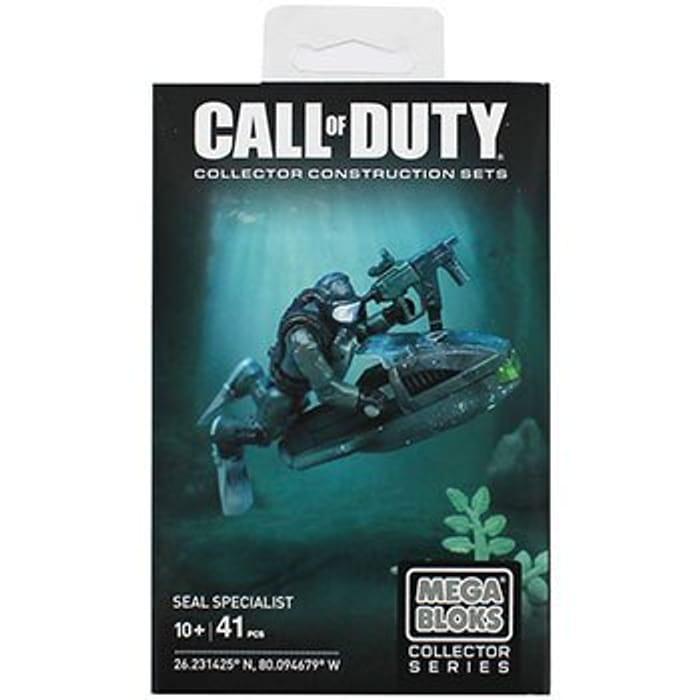 Mega Bloks Call of Duty Seal Specialist
