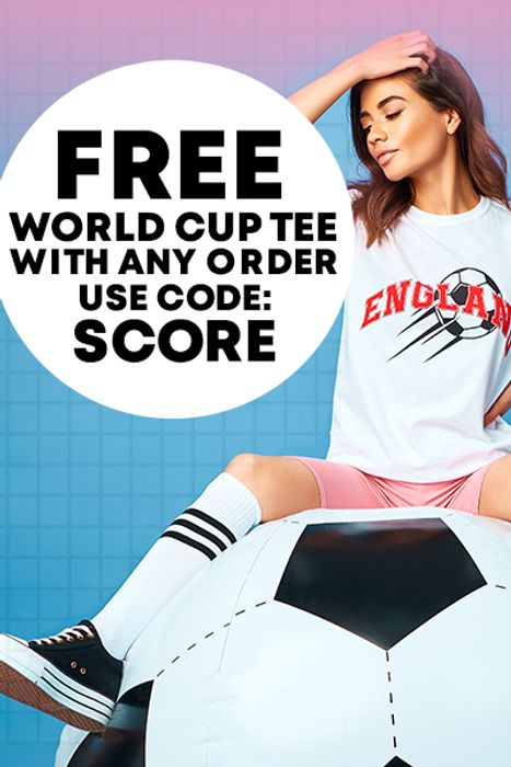 Great Sale Upto 80% off and Free World Cup T-Shirt with Every Order Using Code