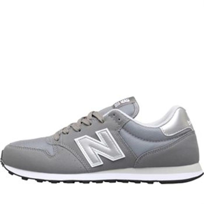 New Balance 500 Grey Trainers