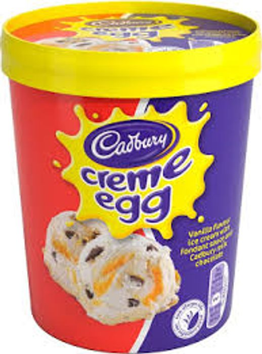 Cadbury Creme Egg Ice Cream 480ml