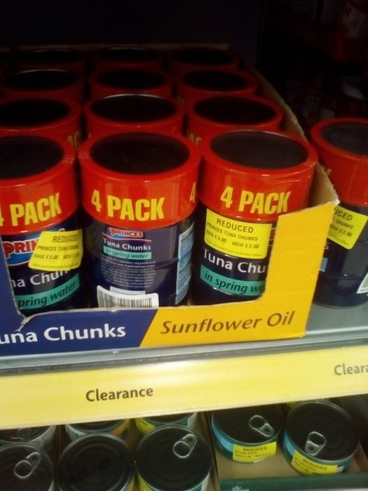 Princes 4 Pack Tuna