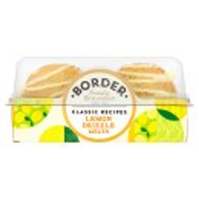 Border Biscuits Recipes Lemon Drizzle Melts