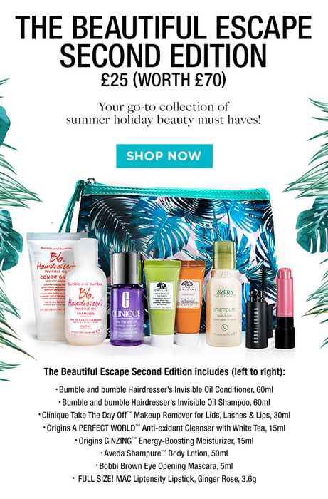 Your Beautiful 9 Piece Gift   the New Summer Beauty Box