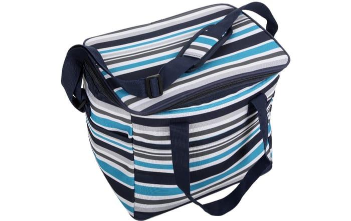 Halfords Blue Stripe Family Cool Bag Only £7.50