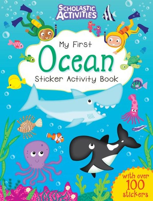 Sticker Activity Books (Other Titles Available Too)