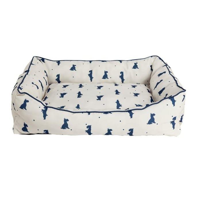 Alfie Square Large Cream Pet Bed