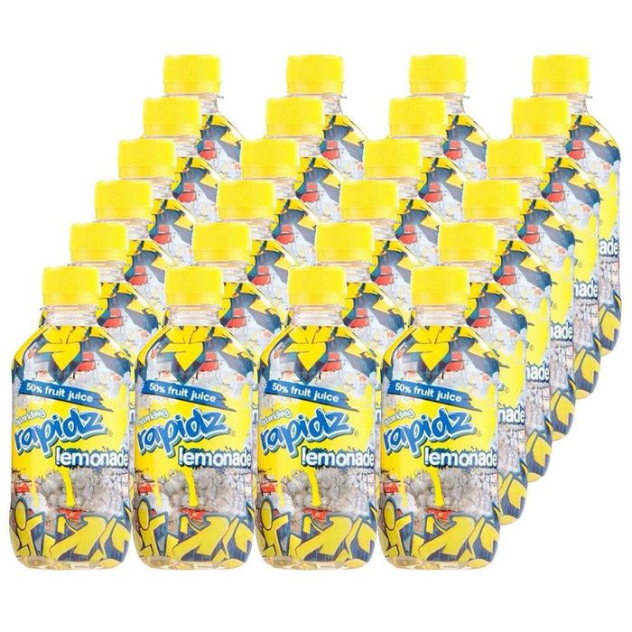 MEGA DEAL CASE PRICE Rapidz Lemonade 300ml X 24