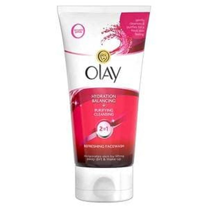 Olay 2in1 Hydration + Purifying Cleansing Facewash 150ml