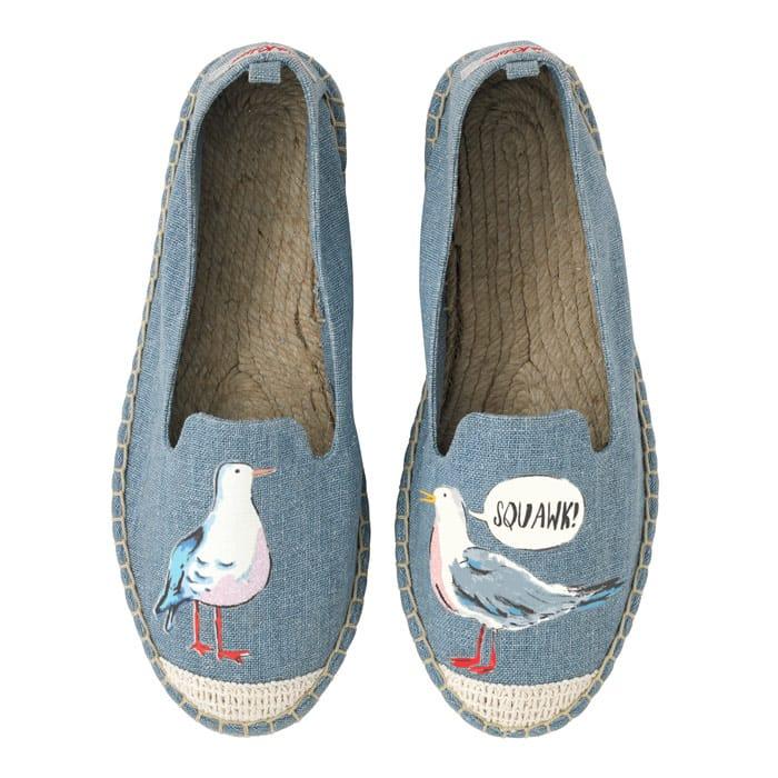 Save 50% off on Cath Kidston Seagull Espadrilles